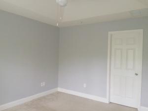 Master Bedroom Color: Silver Bullet